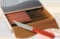 utensilios para churrasco